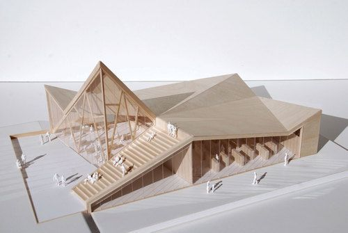 Reiulf Ramstad Architects   Trollveggen service   New restaurant and service building