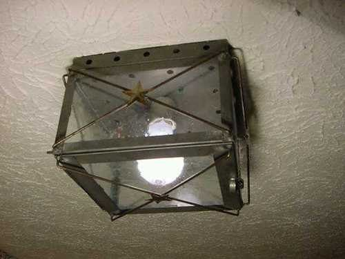 Old Vintage Early American Antique Rustic Colonial Primitive Looking Handcrafted Tin Ceiling Light & 24 best Antique/primitive lighting images on Pinterest | Primitive ... azcodes.com