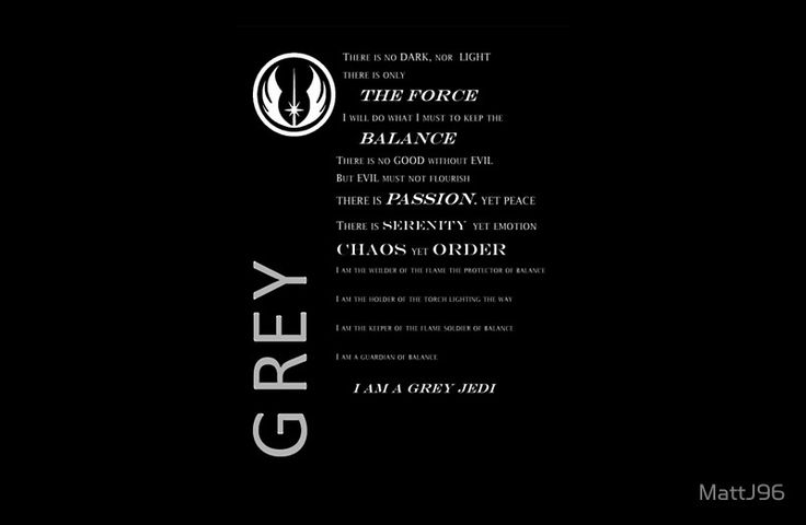 Top Grey Jedi Code For Wallpapers