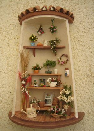 Tejas decoradas