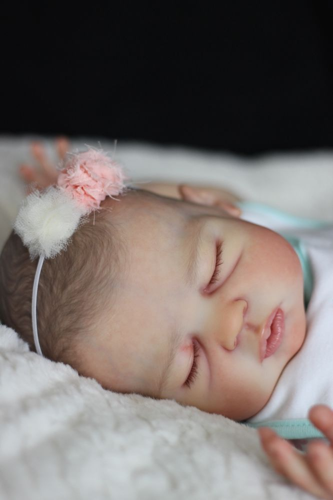 Reborn baby girl doll PROTOTYPE Ivy Jane by Melody Hess *Staci Carey*