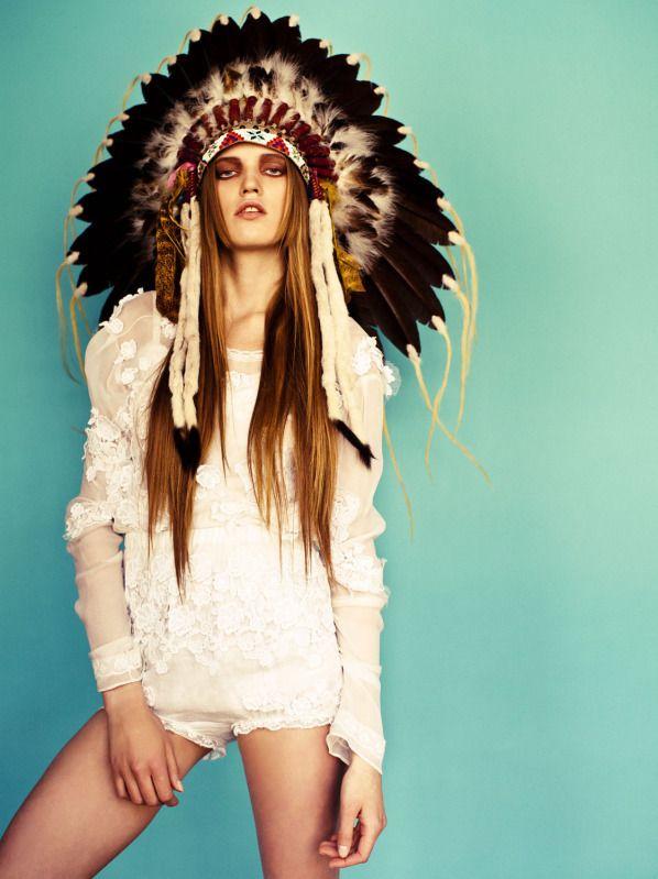 Tribal Fashion Editorials Native American Tribal