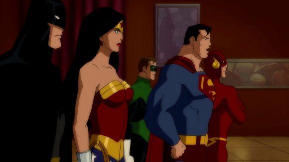 justice league doom - Batman, Wonder Woman, Green Lantern, Superman and Flash
