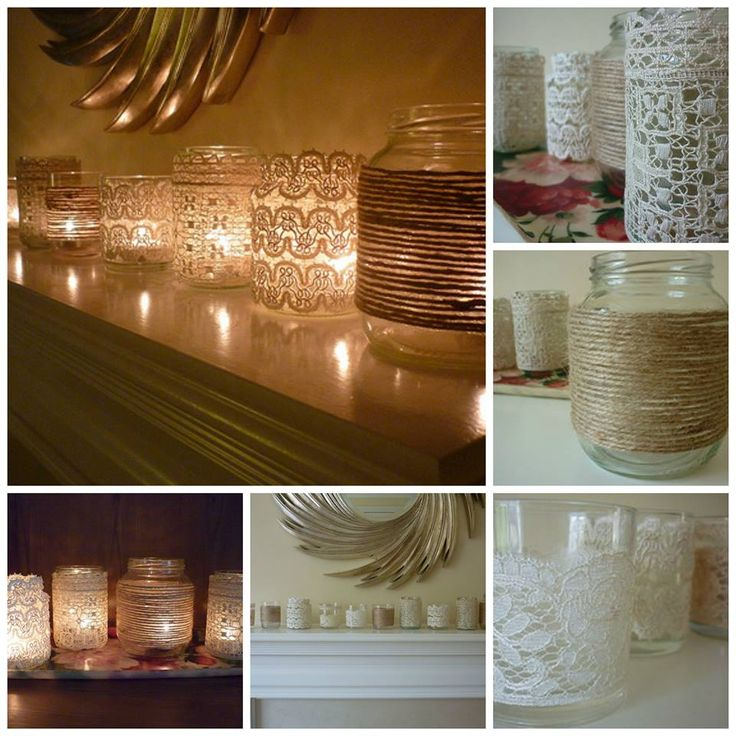 How to DIY Vintage Votives with Mason Jar | www.FabArtDIY.com LIKE Us on Facebook ==> https://www.facebook.com/FabArtDIY
