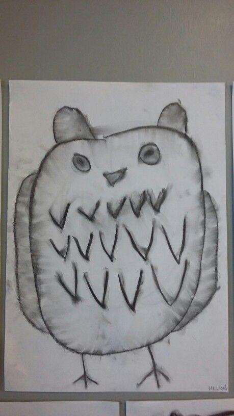 Hiilityö Totti-pöllö eskari