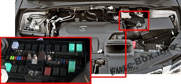 acura rdx (2013, 2014, 2015, 2016, 2017, 2018) fuse box location