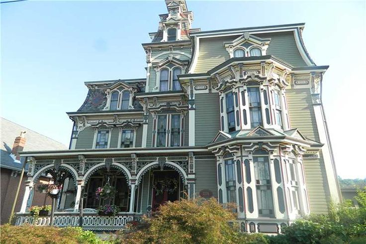 Second Empire ornate Victorian. A real showstopper. Attention to the special details of the 1870'S but has all the modern amenities. Front and back porches for all of your outdoor entertainin…