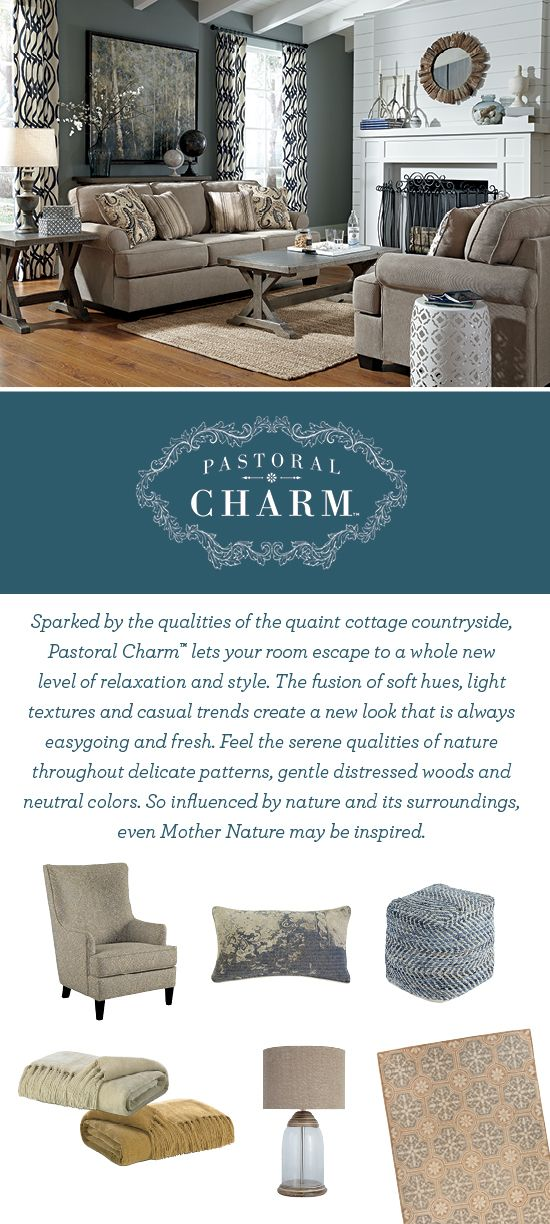 Now Introducing Pastoral Charm™   Relaxed And Fresh Furniture Style   Living  Room Furniture
