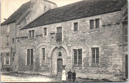 77-PROVINS-ancien-hotel-de-la-coquille