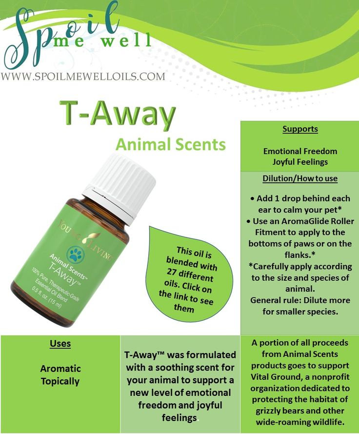 T-Away Animal Scents, Young Living Essential oils for pets, all natural living, dilution ratio, back in stock, must have for pets