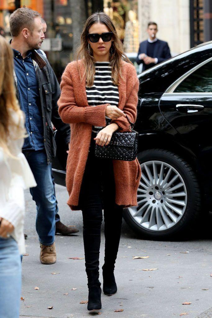 Jessica Alba Casual Style - Nakupovanie v New York City 1012016Jessica Alba ležérny štýl - Nakupovanie v New Yorku 1012016