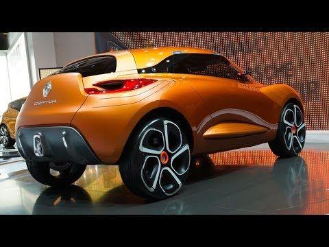 New Renault Captur Concept New Renault Geneva Motor Show Car