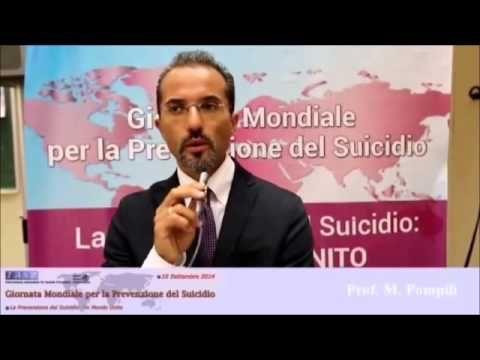 Maurizio Pompili parla alla Giornata Mondiale per la Prevenzione del Sui...