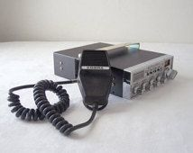 vintage cobra cb radio - mid century - citizens band radio
