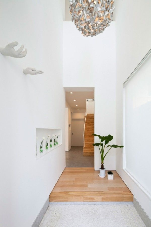 modern house interiors%0A Green Interior from White Modern Interior Design by RCK Design in Tokyo     x    White Modern Interior