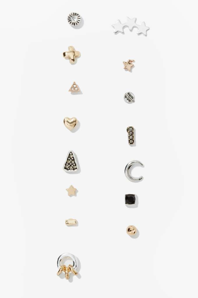 Change It Up 15 Pc. Earring Set | Shop What's New at Nasty Gal