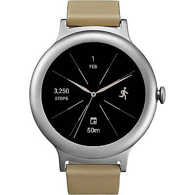 LG Watch Style Smartwatch w/ Android Wear 2.0 & Gorilla Glass 3 -Stainless Steel #Cell #Phones #Accessories #Smart #Watches #LGW270S