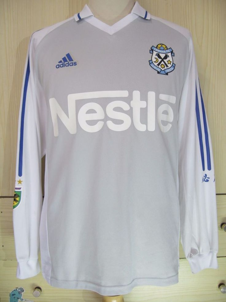 Jubilo Iwata J League Japan 2004 Player Adidas L s Football Soccer Jersey Shirt | eBay