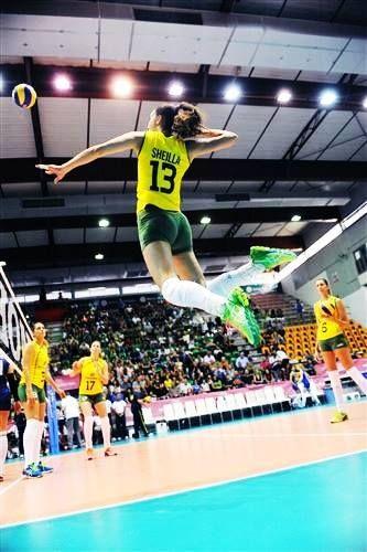Sheilla Castro  (Brazil) FIVB