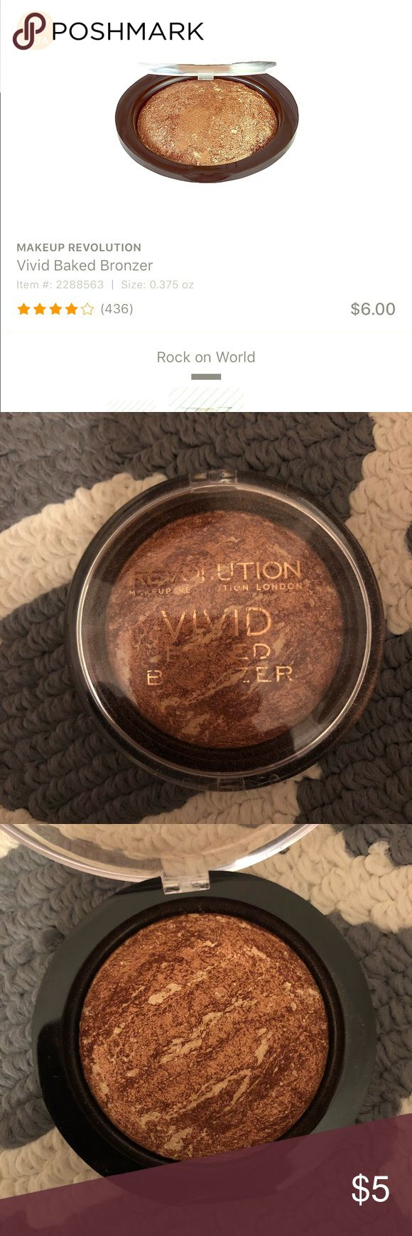 Makeup Revolution vivid baked bronzer Makeup revolution