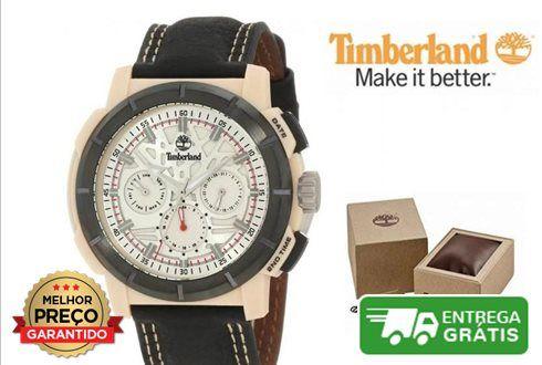 Relógio Timberland Edgewood Multifunction | 5ATM- Caixa de aço inoxidável- Mostrador branco- Exibição da data- Diâmetro 45mm- Movimento de quartzo- Cristal mineral- Resistente à água até 5 ATM / 50 metros- Caixa de oferta, pode ser ligeiramente diferente da foto
