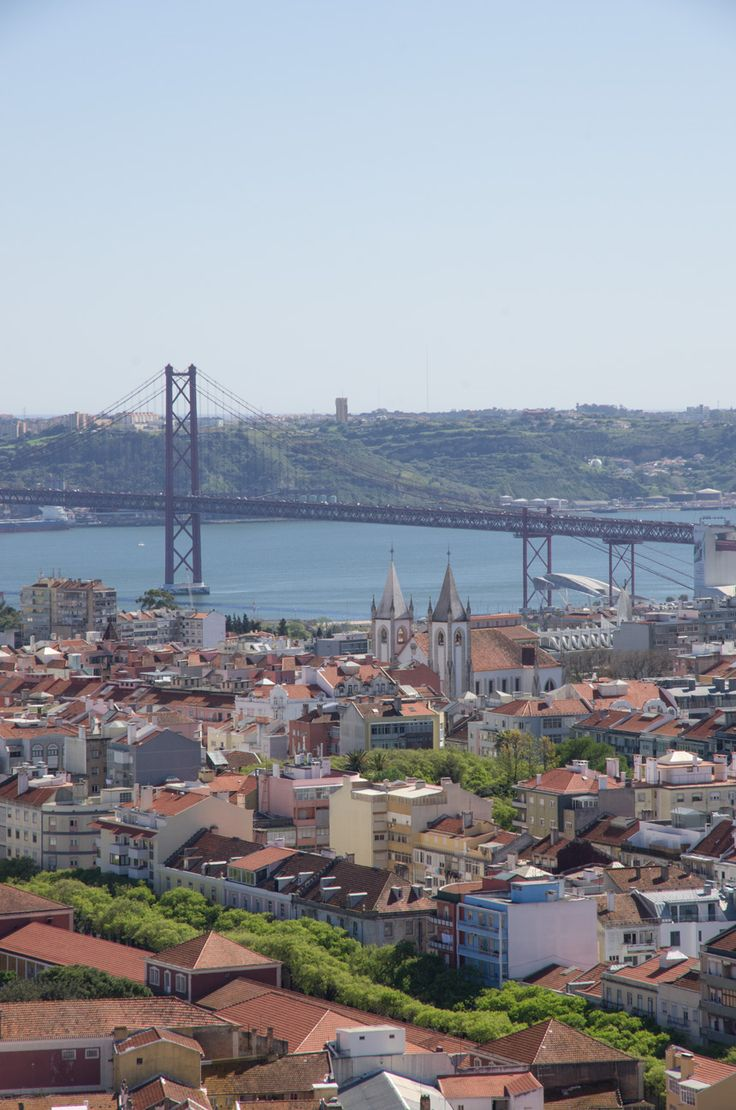 Amazing view of Lisbon at Amoreiras 360º Panoramic View