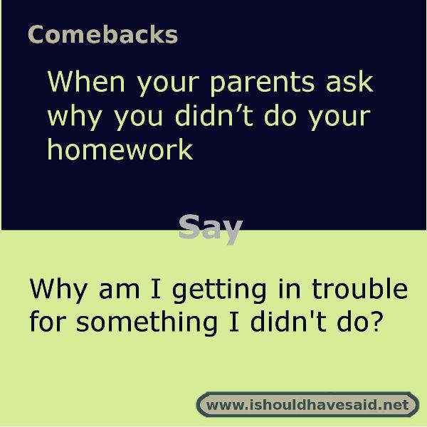 Why I Didnt Do My Homework 365 Days