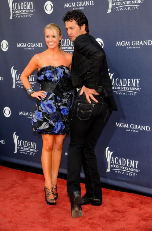 Mrs. Luke Bryan - I hope you know how lucky you are and how many other girls envy you!
