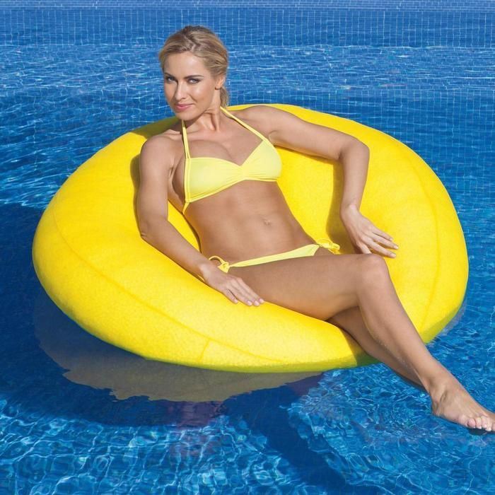 Beanbag Chair Pool Float   Already Counting Down Days Til Next Summer!