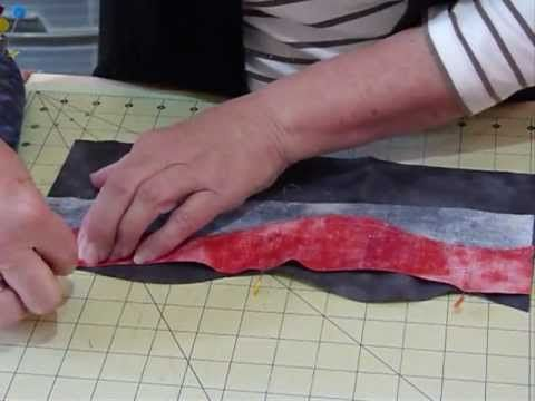 Curvaceous Piecing - How to piece free-form curves - Quilting Tips & Tec...