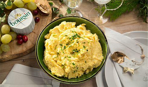 Pastinaakpuree met Boursin® cuisine Knoflook & Fijne Kruiden