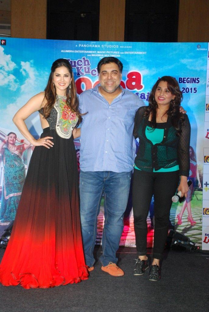 Sizzling Sunny Leone & Ram Kapoor At 'Kuch Kuch Locha Hai' Promotions