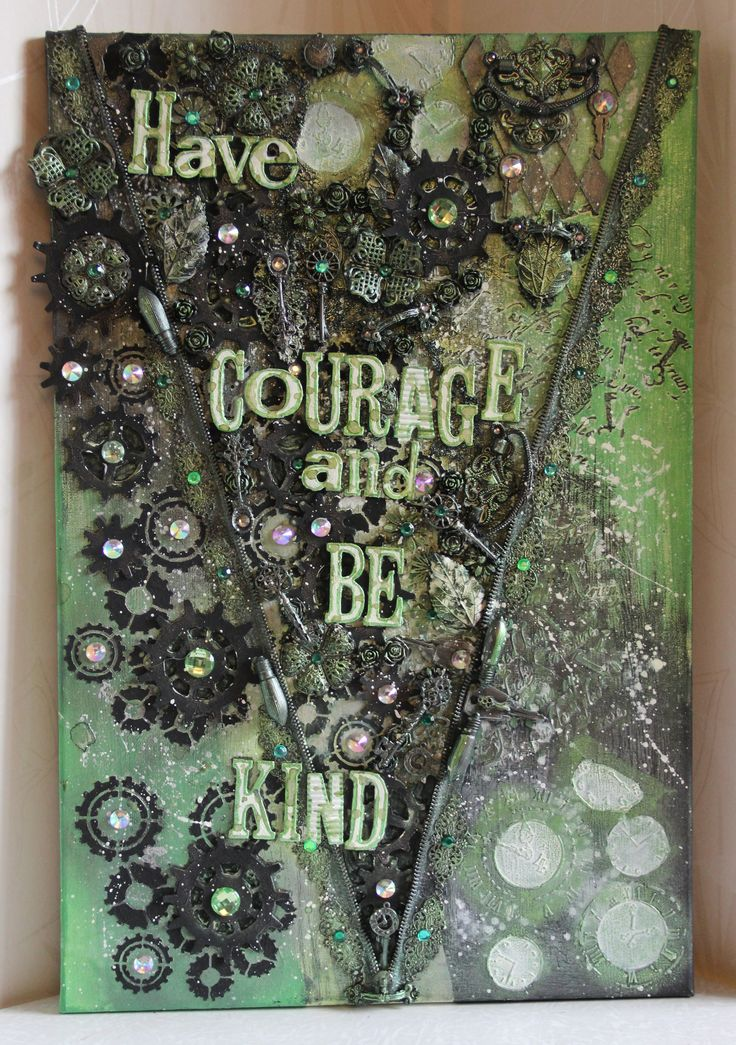 Canvas - Have courage and be kind