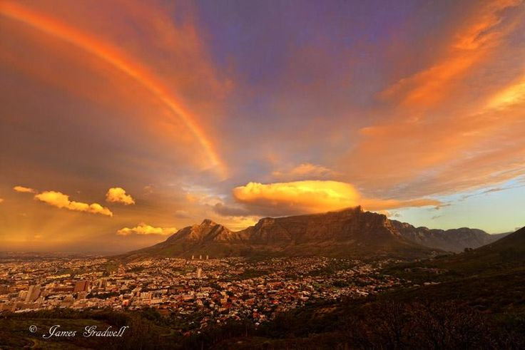 Sunset in Cape Town