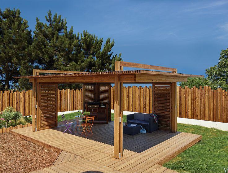 les 8 meilleures images du tableau pergolas sur pinterest pergolas le jardin et abris de jardin. Black Bedroom Furniture Sets. Home Design Ideas
