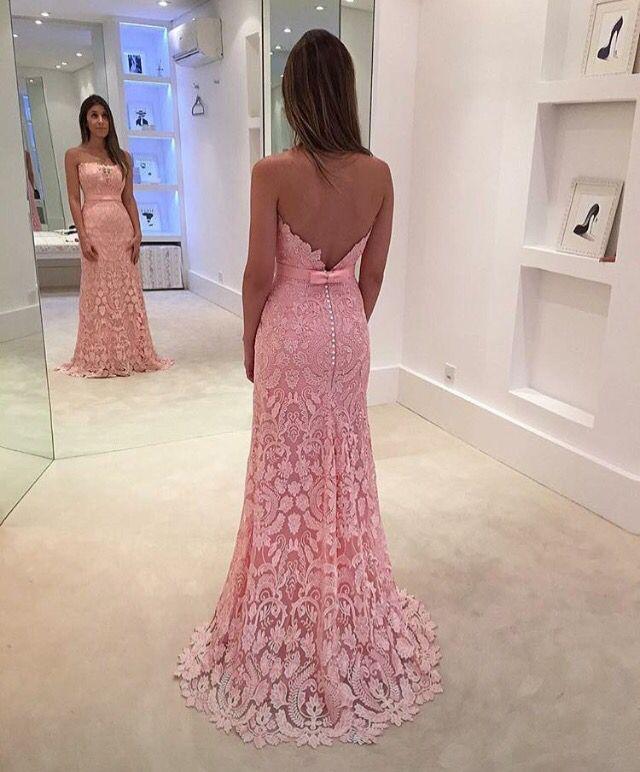 82 best Vestidos Festa images on Pinterest   Ball gown, Classy dress ...