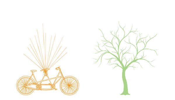 25 best images about arbre empreinte on pinterest. Black Bedroom Furniture Sets. Home Design Ideas