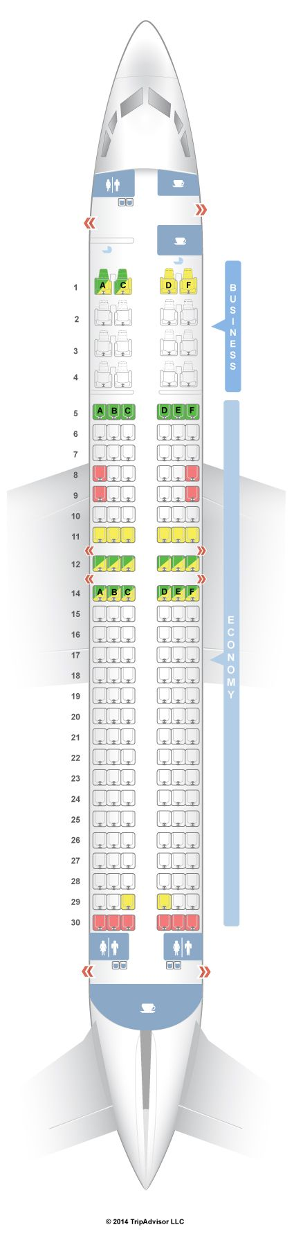 SeatGuru Seat Map Malaysia Airlines Boeing 737-800 (738) V1 - SeatGuru