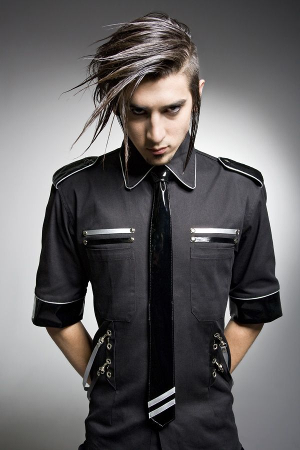 Goth Fashion for Men | ... Corporate Goth: 'Men's ...