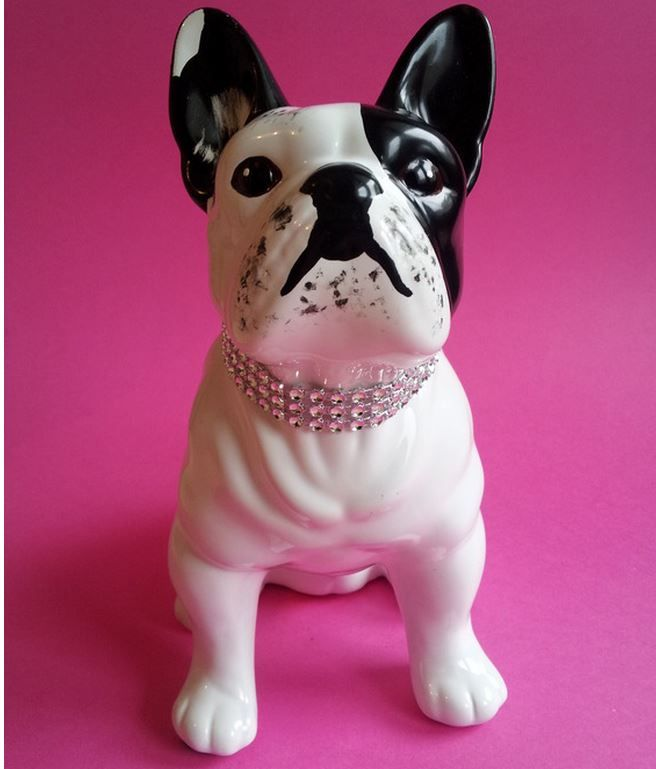 bouledogue cramique collection laure terrier httpwwwalittlemarketcom - Objet Decomaison Moderne