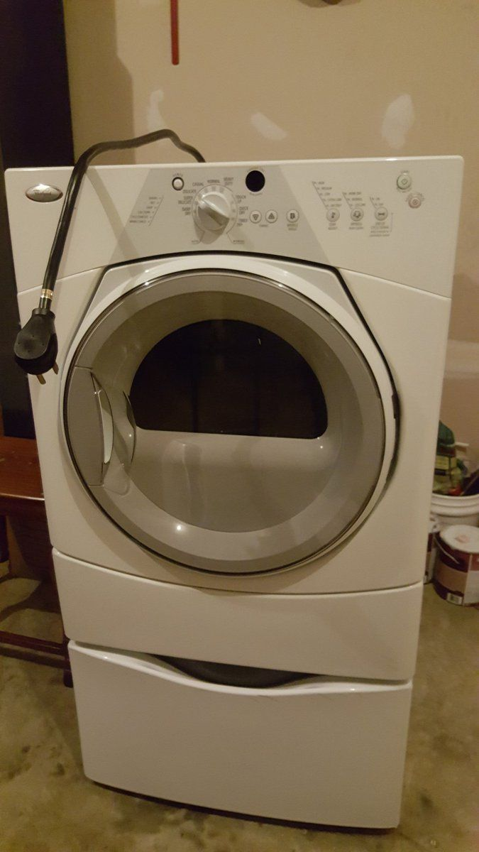 #Whirpool Sport #Dryer with #Pedestal #Appliances - #Waldorf, MD at #Geebo