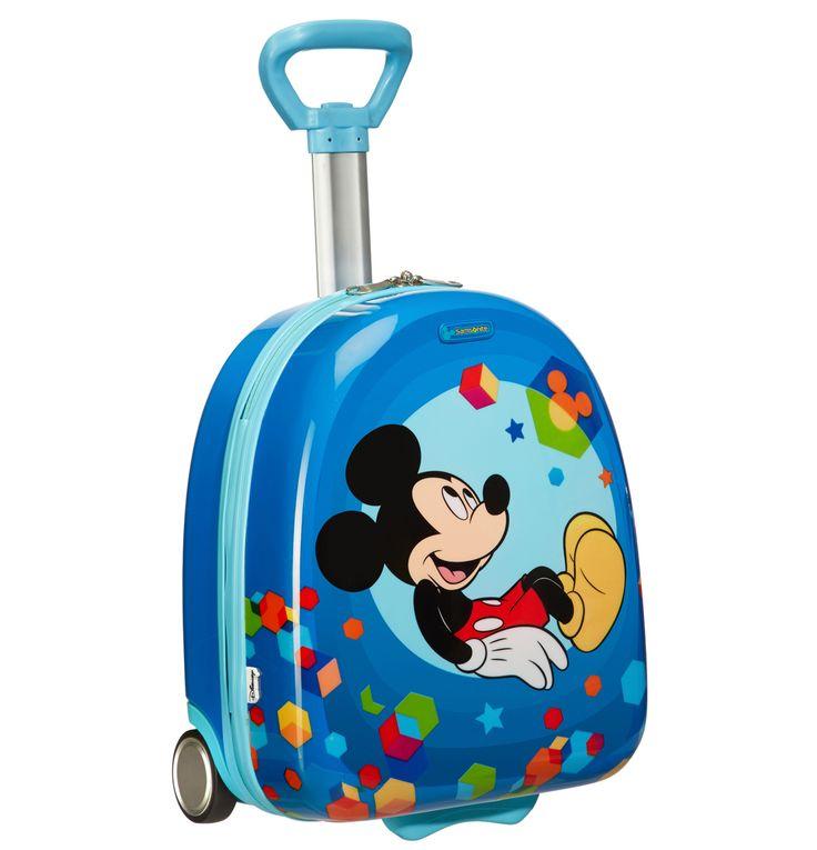 Lækre Samsonite Disney børnekuffert upright, Mickey Mouse Samsonite  til Kufferter til hverdag og fest