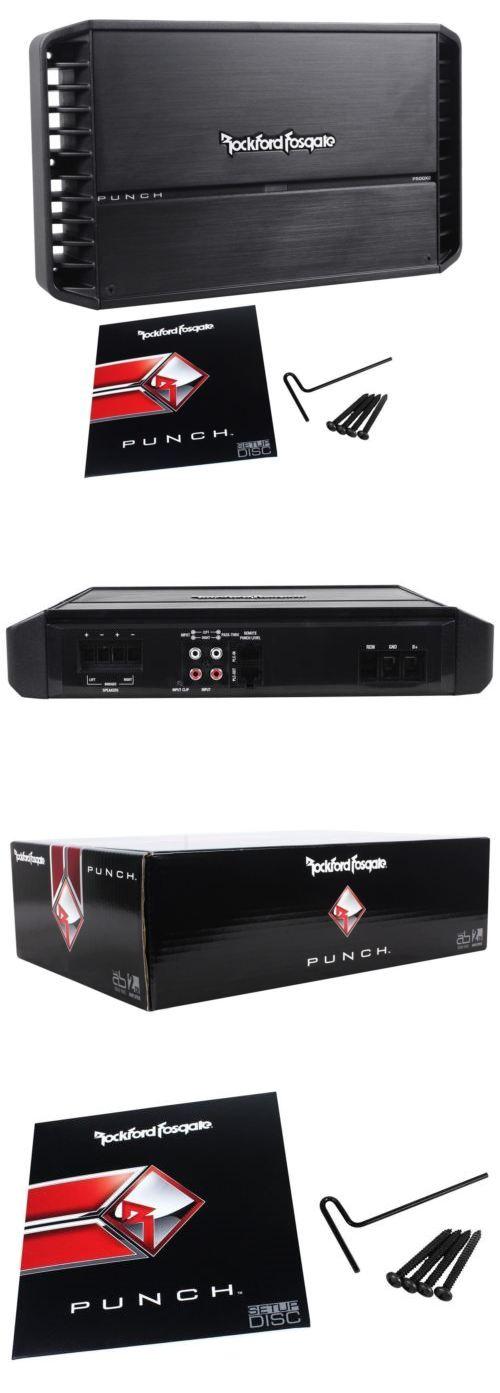 Car Amplifiers: Rockford Fosgate Punch P500x2 P500-2 500 Watt Rms 2-Channel Car Amplifier Amp -> BUY IT NOW ONLY: $244.95 on eBay!