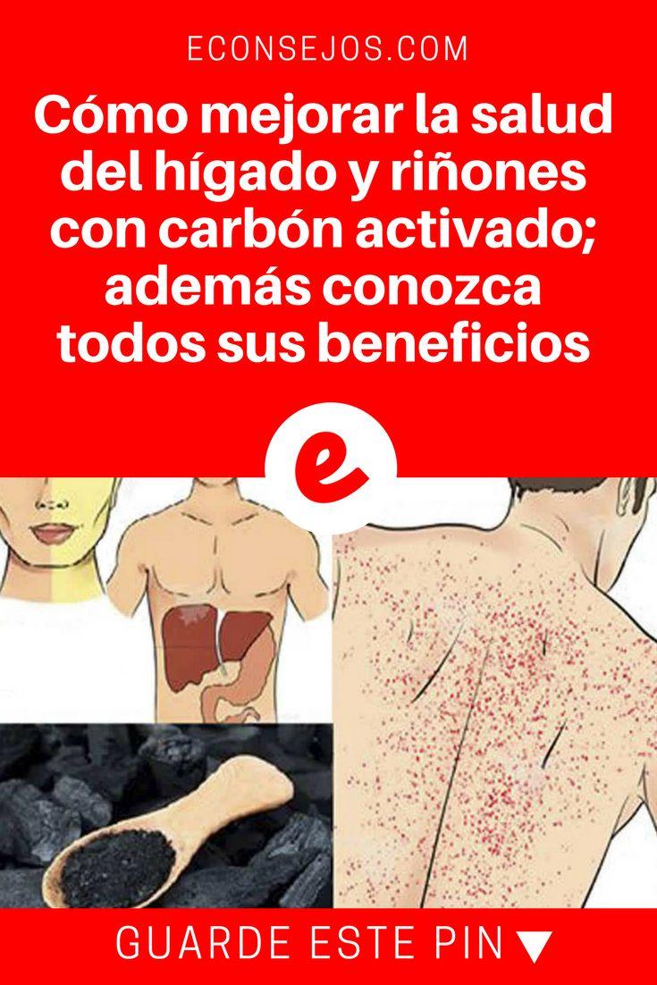 Carbon activado beneficios   Cómo mejorar la salud del hígado y riñones con carbón activado; además conozca todos sus beneficios   Cómo mejorar de una manera fácil, segura y económica, la salud del hígado con carbón activado.