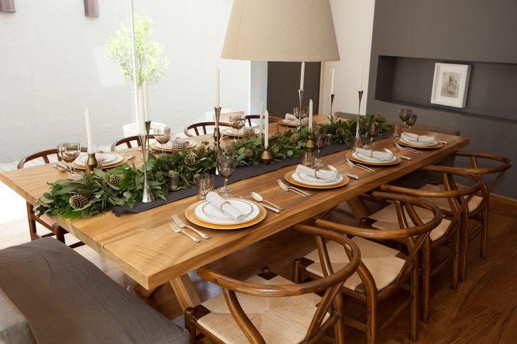 ideas increbles para decorar tu mesa en navidad en navidad increble y mesas