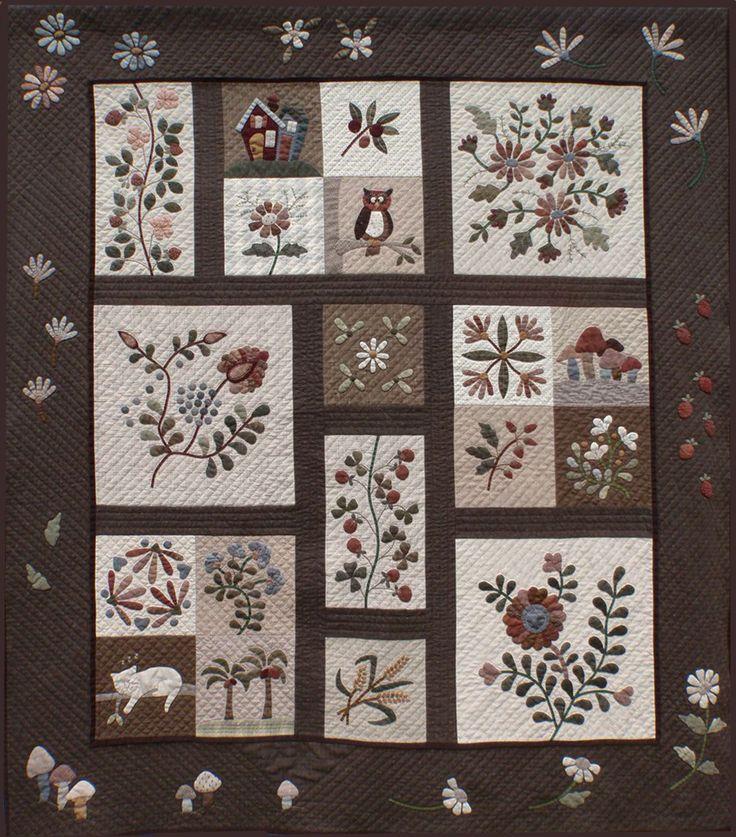 japanese applique quilts | Yoko Saito Quilt Revealed