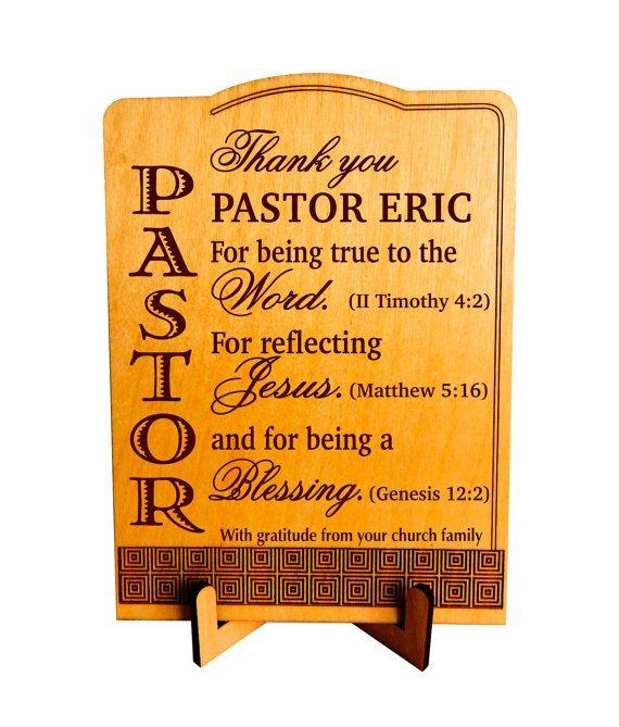 Priest Keepsake Gift Pastor Appreciation by ...