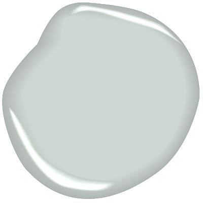 Paint color for the garage interior - Benjamin Moore Nelson Blue CW-635: from BM Williamsburg collection