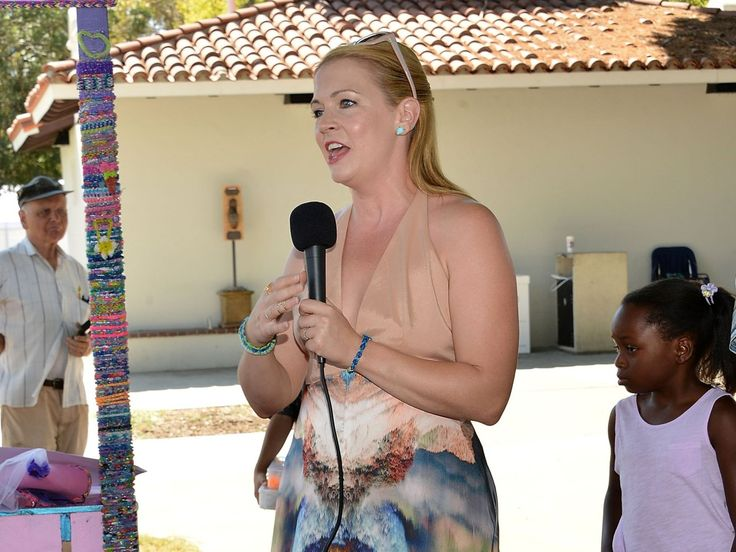 On Tuesday, Melissa Joan Hart (shown here at an event last month) accidentally locked her 2-year-old son, Tucker, in her GMC Denali on a Los Angeles street. She and her husband, Mark Wilkerson, apparently locked their keys in the car, too.