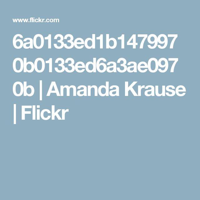 6a0133ed1b1479970b0133ed6a3ae0970b | Amanda Krause | Flickr